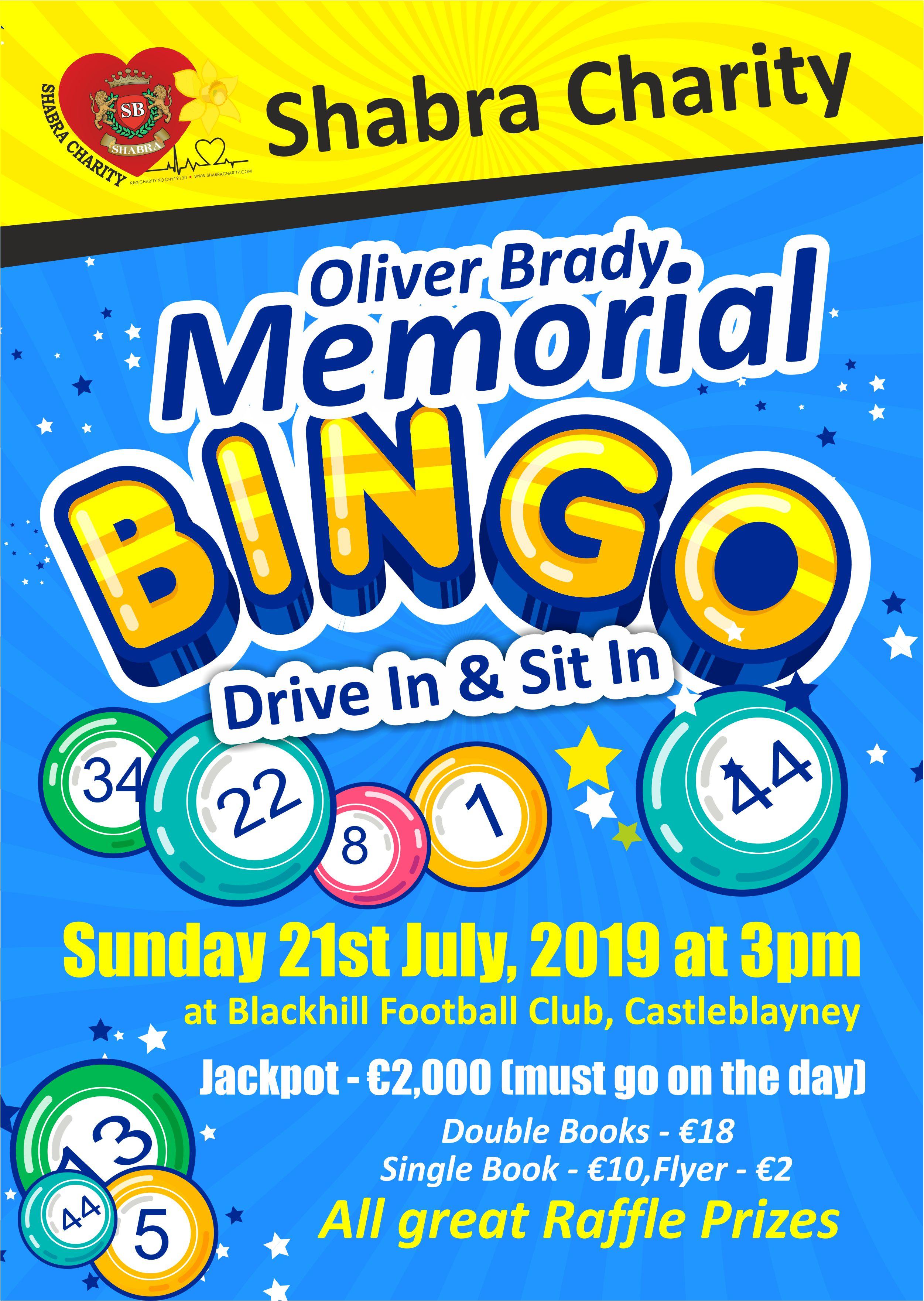 Shabra Charity Bingo