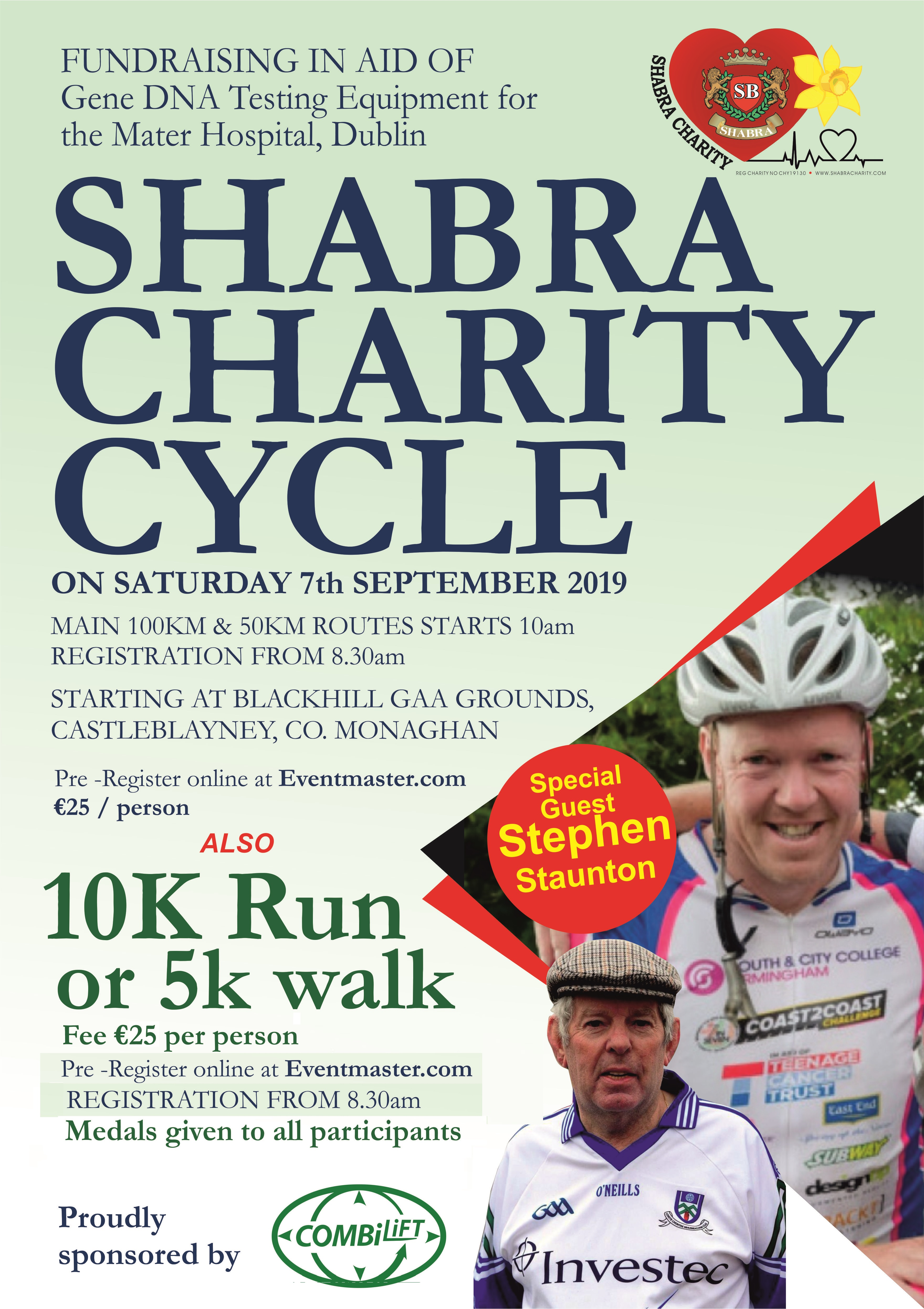 Shabra Charity Cycle Poster